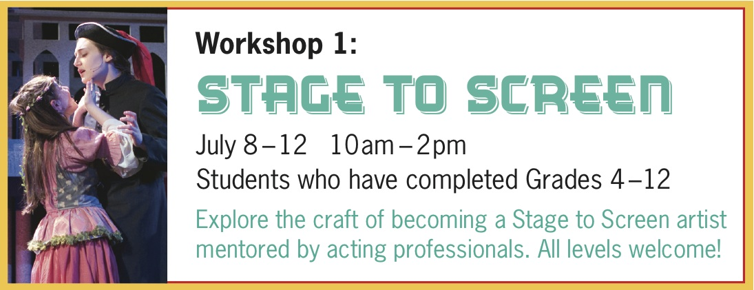 Summer 2019 - Workshop 1