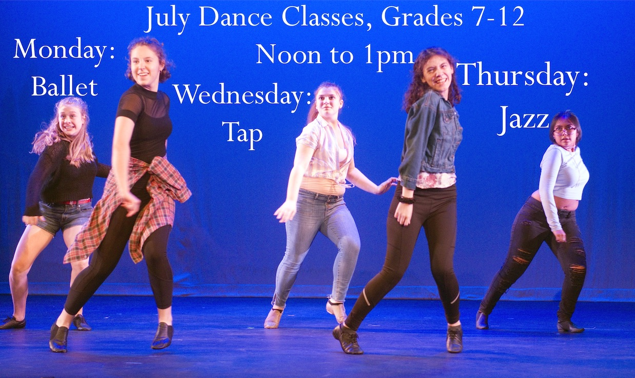 July Dance Classes