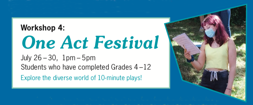 Summer 2021 - One Act Festival
