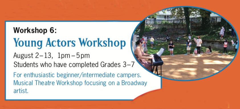 Summer 2021 - Young Actors Workshop